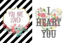 ♥ Valentines ♥ / Inspiration for a very happy Valentines day!