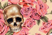 Skulls & wallpapers... / by Latoya Hoffmann
