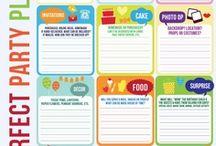 Party Ideas / Party themes, table settings, fun food & creative entertaining ideas