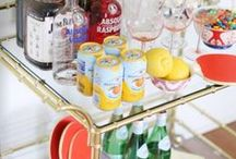 bar carts / by Cupcakes and Cashmere