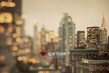 :: I ♡ New York :: / My hometown...NYC / by ❁ Eleanora Rinaldi ❁