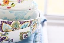 :: Pretty Plates and Bowls ::