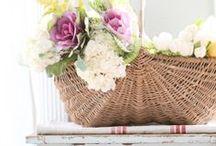 :: Basket of Flowers ::