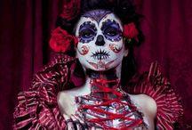 .dia.de.los.muertos. / by VelvetVixen