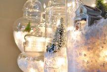 "let it snow / ""Christmas isn't a season. It's a feeling."" (Edna Ferber) / by Jessica Borchers"