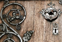 Entry Doors & Door Hardware / Doors come in all shapes & sizes, colours, styles...they are a statement...they are a welcome...they give you a sense of what's inside! / by Chris Clarke