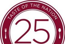Taste of the Nation Orlando / Showcasing the culinary delights of 35 of Central Florida's leading chefs and restaurants. Proceeds help feed the hungry in Central florida / by Peas in a Blog