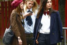 "Off Duty / Model ""street walk"" style. Street style. Striking casual. / by Annie Hallis"