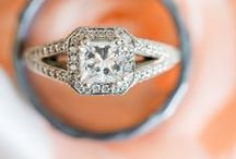 Rings + Jewelry / Wedding rings and bridal jewelry. / by Memory Montage Photography