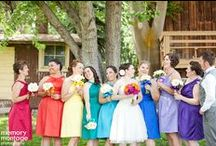 Confetti + Rainbow Weddings / Do you love colorful weddings? Then you'll LOVE this board! Confetti themed weddings and rainbow themed weddings. Bright and cheerful! / by Memory Montage Photography