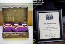 Harry Potter Themed Weddings / We've had the pleasure of photographing some clever and creative brides and grooms as they put on tasteful and elegant Harry Potter themed weddings. Check it out for some ideas. www.memorymp.com / by Memory Montage Photography