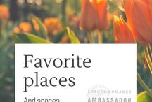 Favorite Places and Spaces