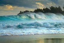 OCEAN ~ WATER, WAVES / by Nancy Lake