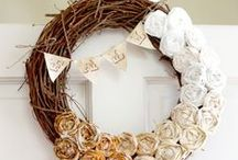 Handmade DIY / Things for the home, self, or gifts that don't involve a sewing machine.