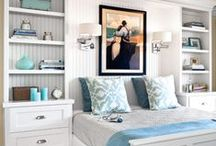 Bedroom Makeover / Taking our bedroom from drab and unorganized to cozy and clutter free.