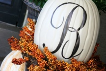 Thanksgiving, Fall and Halloween