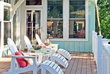 OUTDOOR SPACES / by Tasya {My House and Home}