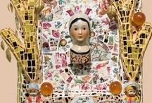 Mosaic, Memory Jugs,etc. / by Nancy Lake