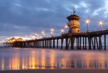 Huntington Beach, my Favorite vacation spot / I LOVE living in Las Vegas. When its time to get away Huntington Beach is always my first choice. There is something about the sea & sand mixed with the laid back beach life style that draws me in