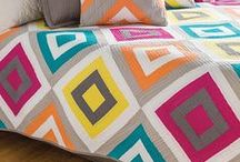 Modern Quilting Inspiration / Quilts and blocks with a modern twist.
