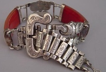Jewelry Vintage Silver cuffs, bracelets / by Nancy Lake