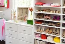 CLOSETS + BOUDOIR / by Tasya {My House and Home}