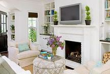 LIVING ROOMS / by Tasya {My House and Home}