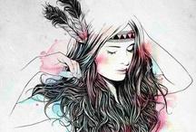 Ilustraciones / by Sandra Llopis