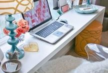 HOME OFFICE / by Tasya {My House and Home}