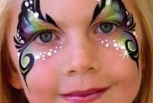 Face Paint- Butterfly / by Elizabeth Hiney