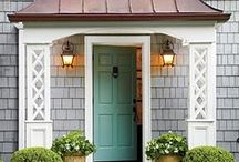 CURB APPEAL / by Tasya {My House and Home}