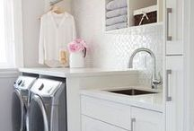 LAUNDRY ROOMS / by Tasya {My House and Home}
