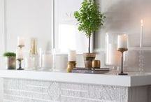 MANTELS / by Tasya {My House and Home}