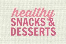 RECIPES: Healthy Snacks and Desserts / All of these recipes are healthy and gluten free with many recipes also suitable for a wide variety of diets and food needs, including paleo, grain free, vegan, gluten free, low fat, low carb, sugar free, diabetic, nut free and soy free recipes that all taste even better than the original!