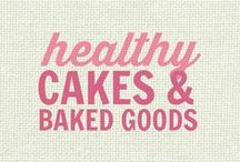 RECIPES: Healthy Cakes, Muffins, Brownies and Quick Breads - Baked Goods Galore! / All of these recipes are healthy and gluten free with many recipes also suitable for a wide variety of diets and food needs, including paleo, grain free, vegan, gluten free, low fat, low carb, sugar free, diabetic, nut free and soy free recipes that all taste even better than the original!