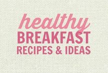 RECIPES: Healthy Breakfasts / All of these recipes are healthy and gluten free with many recipes also suitable for a wide variety of diets and food needs, including paleo, grain free, vegan, gluten free, low fat, low carb, sugar free, diabetic, nut free and soy free recipes that all taste even better than the original!