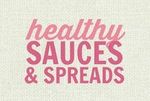 RECIPES: Healthy Sauces, Condiments and Spreads / All of these recipes are healthy and gluten free with many recipes also suitable for a wide variety of diets and food needs, including paleo, grain free, vegan, gluten free, low fat, low carb, sugar free, diabetic, nut free and soy free recipes that all taste even better than the original!