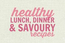 RECIPES: Healthy Lunch, Dinner and Savouries / All of these recipes are healthy and gluten free with many recipes also suitable for a wide variety of diets and food needs, including paleo, grain free, vegan, gluten free, low fat, low carb, sugar free, diabetic, nut free and soy free recipes that all taste even better than the original!