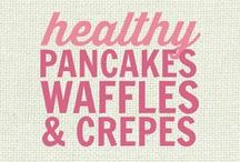 RECIPES: Healthy Pancakes, Waffles and Crepes / All of these recipes are healthy and gluten free with many recipes also suitable for a wide variety of diets and food needs, including paleo, grain free, gluten free, low fat, low carb, sugar free, diabetic, nut free and soy free recipes that all taste even better than the original!