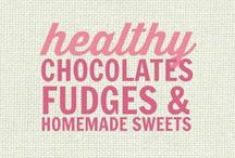 RECIPES: Healthy Homemade Chocolates, Fudge and Sweet Treats / All of these recipes are healthy and gluten free with many recipes also suitable for a wide variety of diets and food needs, including paleo, grain free, vegan, gluten free, low fat, low carb, sugar free, diabetic, nut free and soy free recipes that all taste even better than the original!