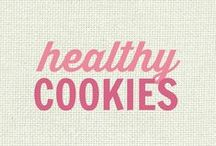 RECIPES: Healthy Cookies! / All of these recipes are healthy and gluten free with many recipes also suitable for a wide variety of diets and food needs, including paleo, grain free, vegan, gluten free, low fat, low carb, sugar free, diabetic, nut free and soy free recipes that all taste even better than the original!