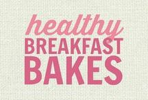 RECIPES: Healthy Breakfast Bakes / All of these recipes are healthy and gluten free with many recipes also suitable for a wide variety of diets and food needs, including paleo, grain free, vegan, gluten free, low fat, low carb, sugar free, diabetic, nut free and soy free recipes that all taste even better than the original!