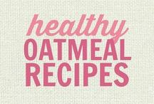 RECIPES: All Things Oatmeal - Baked Oatmeal, Overnight Oats and Hot Oatmeal Breakfasts / Healthy Oatmeal Recipes everyone will love. These recipes are all adaptable to suit a wide variety of diets, including; gluten free, low fat, clean eating friendly, vegan etc.