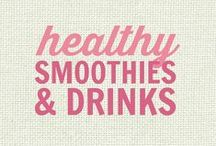 RECIPES: Healthy Smoothies and Drinks / All of these recipes are healthy and gluten free with many recipes also suitable for a wide variety of diets and food needs, including paleo, grain free, vegan, gluten free, low fat, low carb, sugar free, diabetic, nut free and soy free recipes that all taste even better than the original!