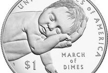 2015 March of Dimes Silver Dollar / by United States Mint