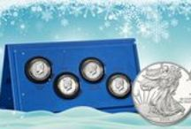 Holiday Gift Ideas / These treasures are sure to make everyone's holiday a little brighter!  / by United States Mint