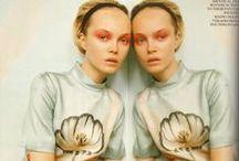 Fashion Twins / We go together.  - Tinyfrockshop.com