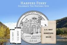 2016 America the Beautiful Quarters® Program / The 2016 coins honor Shawnee National Forest (Ill.), Cumberland Gap National Historical Park (Ky.), Harpers Ferry National Historical Park (W.Va.), Theodore Roosevelt National Park (N.D.), and Fort Moultrie at Fort Sumter National Monument (S.C.).