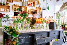 MERCANTILE STORES + CAFES / by Tasya {My House and Home}