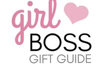 Boss Lady Gift Guide  / Gift ideas for girl bosses in your life! From entrepreneurs to bloggers, CEOs and career women this gift guide has ideas for birthdays, Christmas, Valentine's Day, anniversary gifts and more!